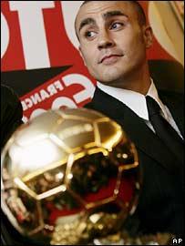 Cannavaro Balón de Oro