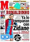 Zidane mejor que Ronaldinho