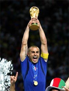 Cannavaro ganador del Fifa World Player