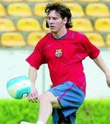 Leo Messi en 2006